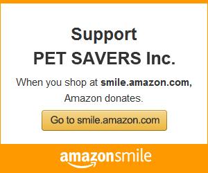 PET SAVERS Amazon Smile
